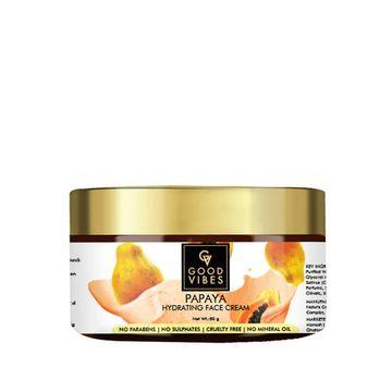 Good Vibes | Good Vibes Hydrating Face Cream - Papaya (50 g)