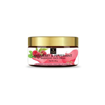 Good Vibes | Good Vibes Balancing Face Cream - Raspberry and Peppermint (50 g)