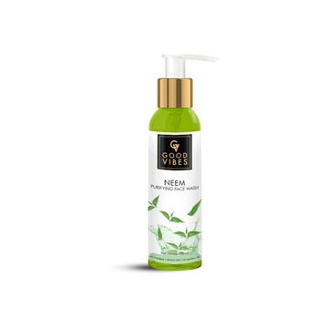 Good Vibes | Good Vibes Purifying Face Wash - Neem (200 ml)