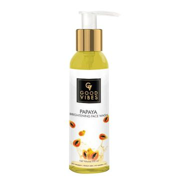 Good Vibes | Good Vibes Brightening Face Wash - Papaya (200 ml)