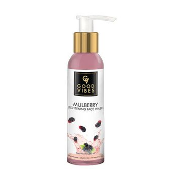 Good Vibes | Good Vibes Lightening Face Wash - Mulberry (200 ml)