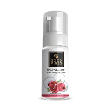 Good Vibes | Good Vibes Anti - Oxidant Foaming Face Wash - Pomegranate (150ml)