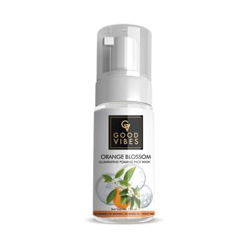 Good Vibes | Good Vibes Illuminating Foaming Face Wash - Orange Blossom (150ml)