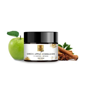 Good Vibes | Good Vibes Plus Skin Soothing + Softening Body Scrub - Green Apple + Cinnamon (50 g)