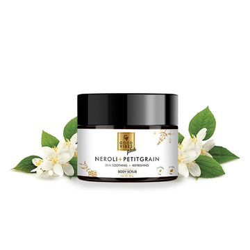 Good Vibes | Good Vibes Plus Skin Soothing + Refreshing Body Scrub - Neroli + Petitgrain (50 g)