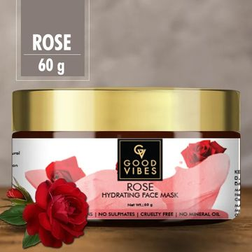 Good Vibes | Good Vibes Hydrating Face Mask - Rose (60 g)