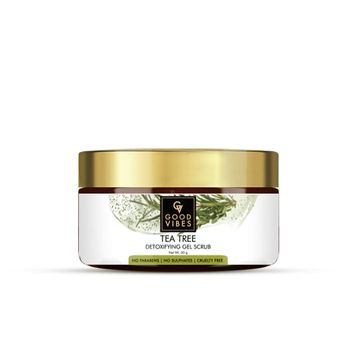 Good Vibes | Good Vibes Detoxifying Gel Scrub - Tea Tree (50 g)