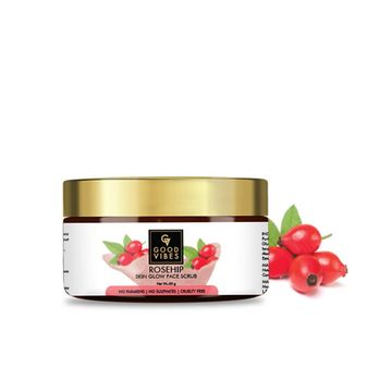 Good Vibes | Good Vibes Skin Glow Face Scrub - Rosehip (50 g)