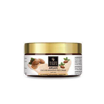 Good Vibes | Good Vibes Fine Line Minimizing Face Cream - Argan (50 g)