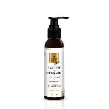 Good Vibes | Good Vibes Plus Softening + Hydrating Shampoo - Tea Tree + Peppermint (120 ml)