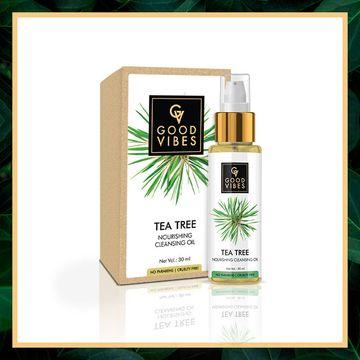 Good Vibes   Good Vibes Nourishing Cleansing Oil - Tea Tree (30 ml)