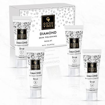 Good Vibes | Good Vibes Skin Polishing Facial Kit - Diamond (40 g)