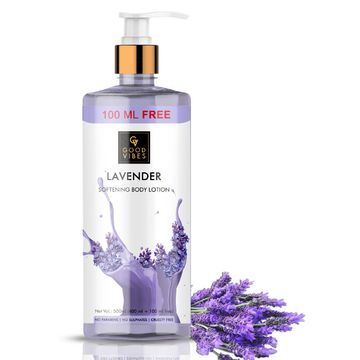 Good Vibes | Good Vibes Lavender Softening Body Lotion (400ml + 100 ml free)