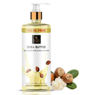Good Vibes | Good Vibes Shea Butter Deep Moisturizing Body Lotion (400ml + 100 ml free)