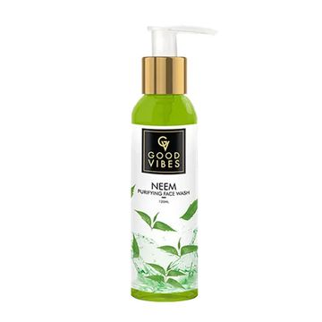 Good Vibes | Good Vibes Purifying Face Wash - Neem (120 ml)