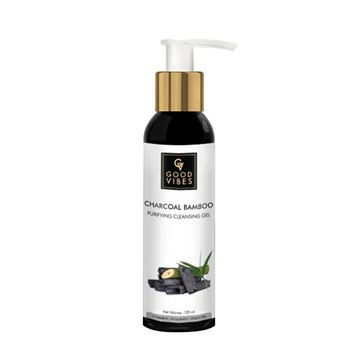 Good Vibes | Good Vibes Charcoal Bamboo Purifying Cleansing Gel (120 ml)