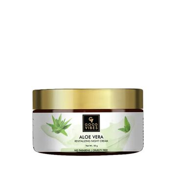 Good Vibes | Good Vibes Aloe Vera Revitalizing Night Cream (50 g)