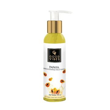 Good Vibes | Good Vibes Brightening Face Wash - Papaya (120 ml)