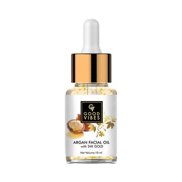 Good Vibes | Good Vibes Argan Facial Oil with 24K Gold (10 ml)