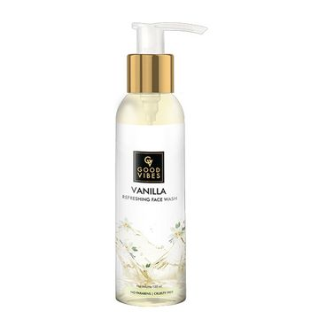 Good Vibes | Good Vibes Refreshing Face Wash - Vanilla (120 ml)