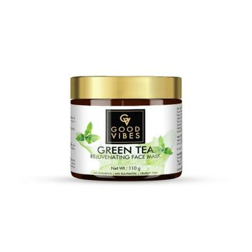 Good Vibes | Good Vibes Rejuvenating Face Mask - Green Tea (110 g)