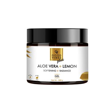 Good Vibes | Good Vibes Plus Softening + Radiance Gel - Aloe Vera + Lemon (300 g)