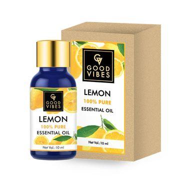 Good Vibes | Good Vibes 100% Pure Lemon Essential Oil(10 ml)