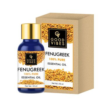 Good Vibes | Good Vibes 100% Pure Fenugreek Essential Oil(10 ml)