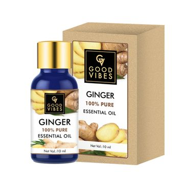 Good Vibes | Good Vibes 100% Pure Ginger Essential Oil(10 ml)