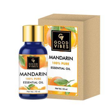 Good Vibes | Good Vibes 100% Pure Mandarin Essential Oil(10 ml)