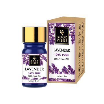 Good Vibes   Good Vibes 100% Pure Lavender Essential Oil(5 ml)