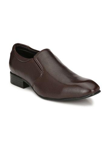 Guava | Guava Men's Elegent Formal moccasin Shoes - Brown