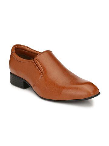 Guava | Guava Men's Elegent Formal moccasin Shoes - Tan