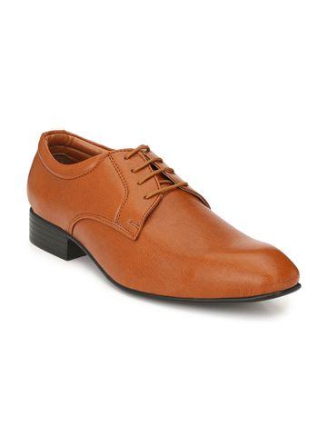Guava | Guava Men's Elegent Formal derby Shoes - Tan