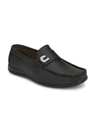 Guava | Guava Men's  Stylish Loafer Shoes - Black