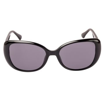 GUESS | Guess Black Frame With Grey Lens Oval Shape Women Sunglass