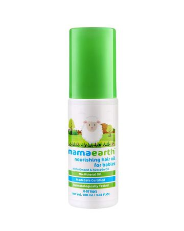 Mothercare | mamaearth nourishing hair oil for babies
