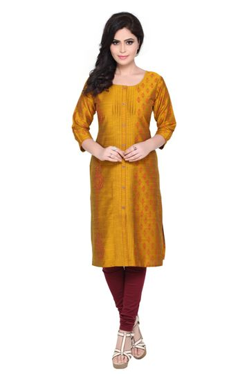 Havva Fashion | Traditional Silk Kurti