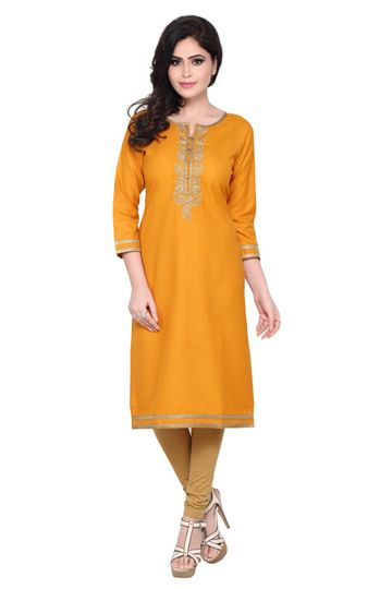 Havva Fashion | Trendy Embroidered Kurti