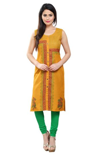 Havva Fashion | Kalankari Hand Block Printed Kurti