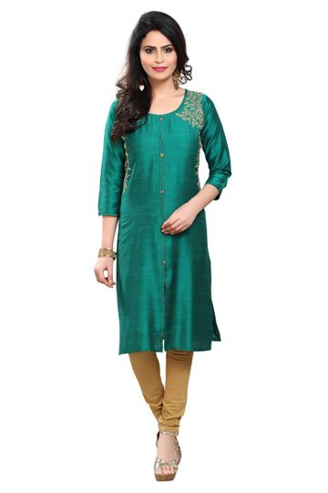 Havva Fashion | Trendy Kasab Embroidred Women Kurti