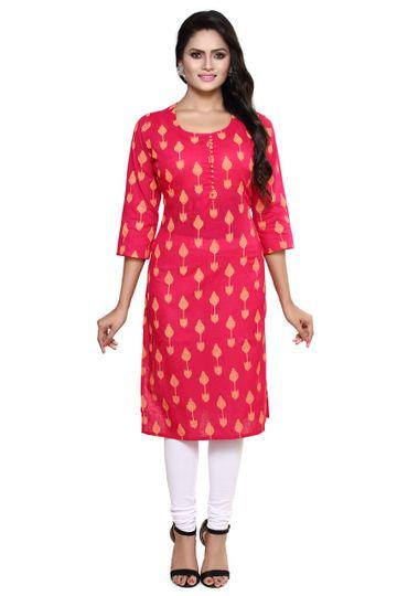 Havva Fashion | Standard Salab Silk Printed Kurti