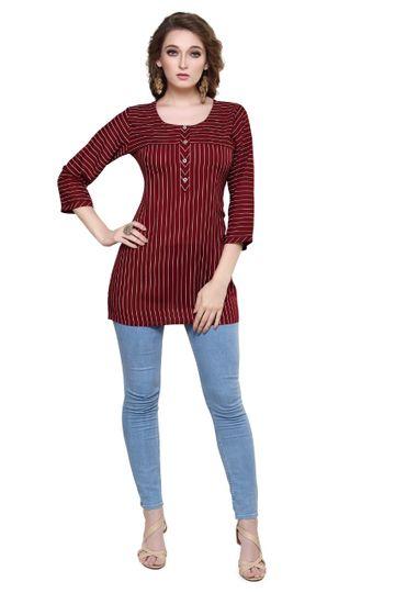 Havva Fashion | Premium Rayon Tunic Kurti