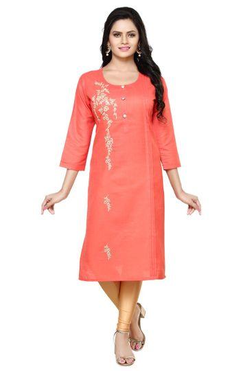Havva Fashion   Casual Crimp Pleated Kashab Embroidered Kurti