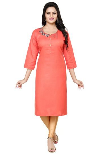 Havva Fashion   Beautiful Detailing Chawal Taka Kurti