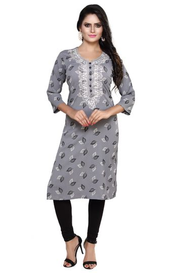 Havva Fashion | Superb Georgette embroidered Kurti