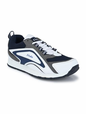 Hirolas | Hirolas Men's Multisport Sneaker Shoes- White/Blue
