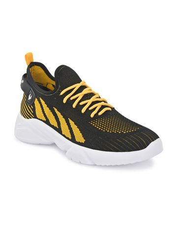 Hirolas | Hirolas® Knitted athleisure Sports Shoes - Blue/Yellow
