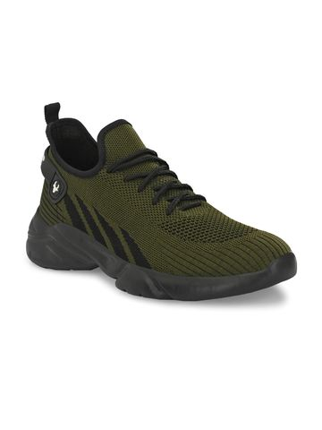 Hirolas | Hirolas® Knitted athleisure Sports Shoes - Green/Black