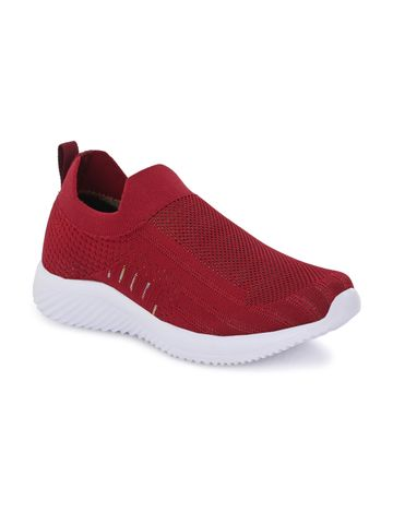 Hirolas   Hirolas® Sports Casual Running Shoes Walking Jogging Gym Sneakers Comfortable Breathable Trainers Athletic Sports Shoes for women - Maroon